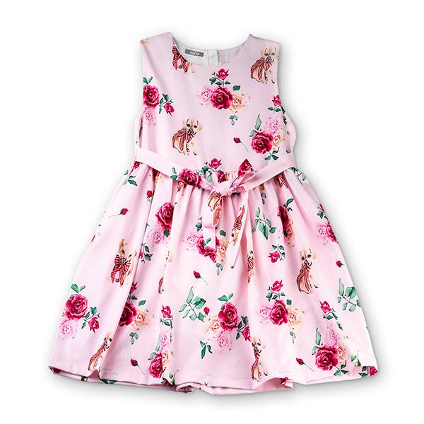 Rochie cu trandafiri si catelusi [6]