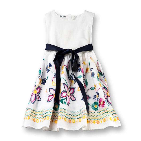 Rochie cu flori brodate 0