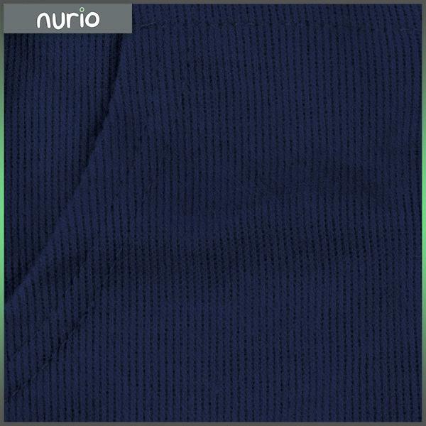 Hanorac albastru inchis cu fermoar si gluga 1