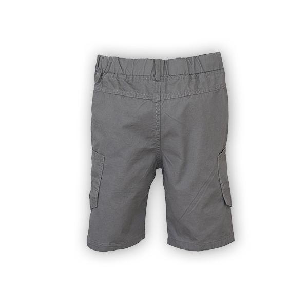 Bermude cu buzunare laterale culoare gri [6]