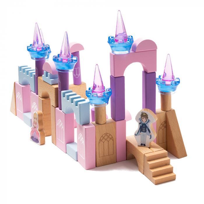 Blocuri de constructie din lemn - castelul 0