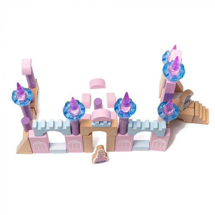Blocuri de constructie din lemn - castelul 2