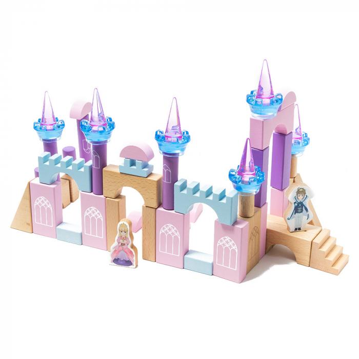 Blocuri de constructie din lemn - castelul 1