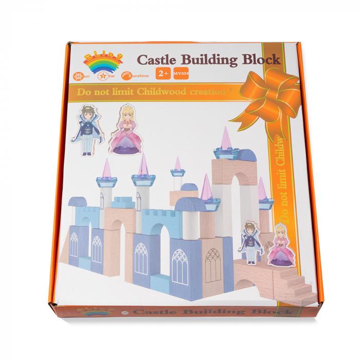 Blocuri de constructie din lemn - castelul 3