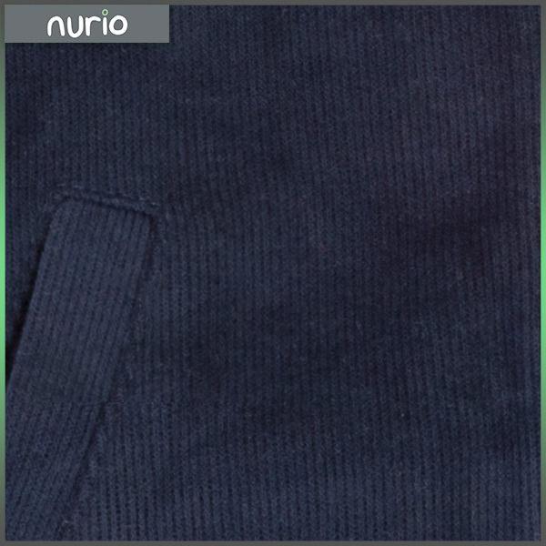 Cardigan albastru inchis cu fermoar 2