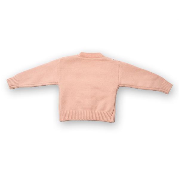 Cardigan din tricot cu broderie 1