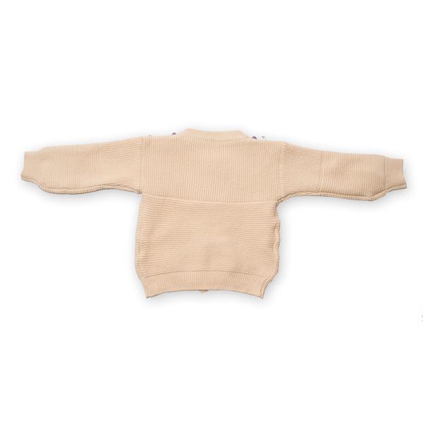 Cardigan din tricot cu nasturi colorati [4]