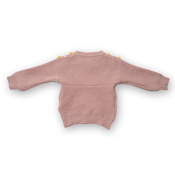 Cardigan din tricot cu nasturi colorati 1