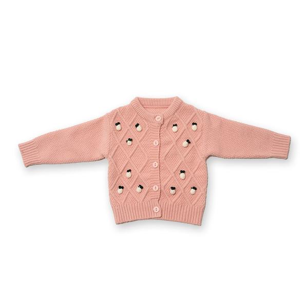 Cardigan din tricot cu nasturi 0