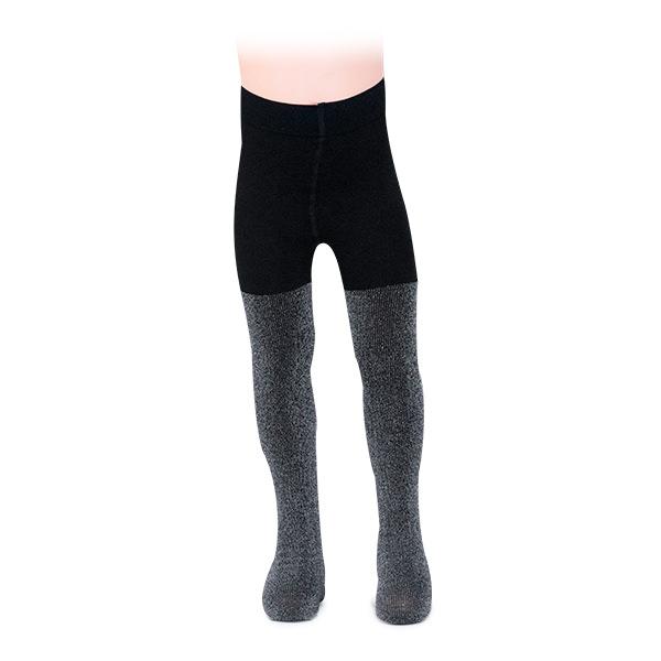Ciorapi negri cu fir lame 0