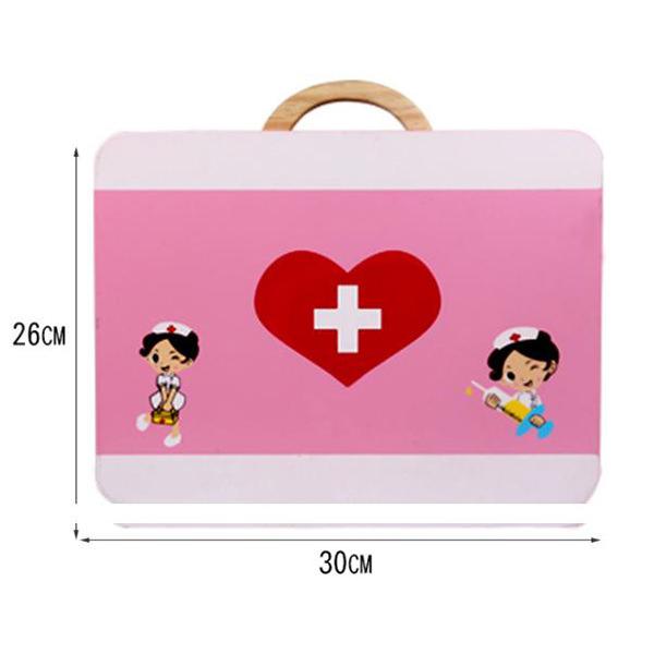 Trusa medicala din lemn pentru copii 2