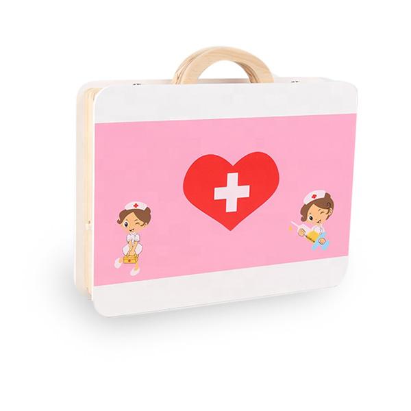 Trusa medicala din lemn pentru copii 3