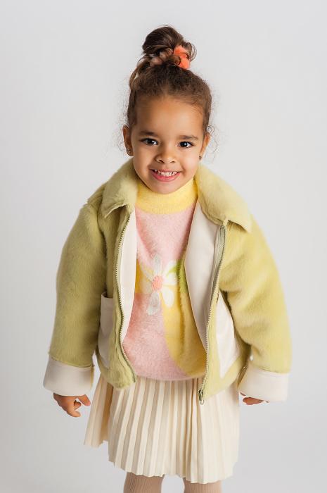 Jachetă din Imitație de Blană 0