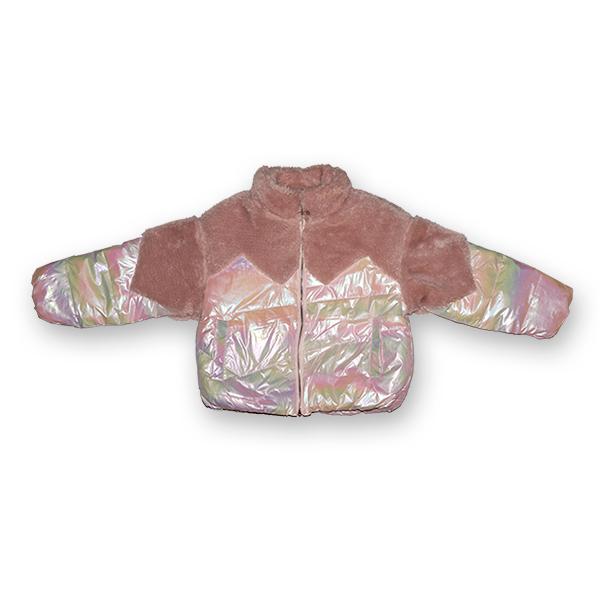 Jachetă Lucioasă cu Puf 1