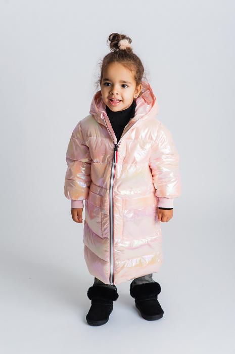 Jachetă Lungă cu Puf 0