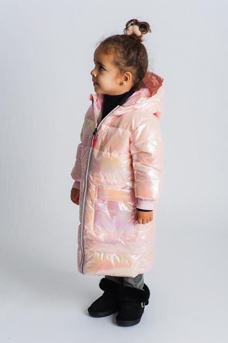 Jachetă Lungă cu Puf 2