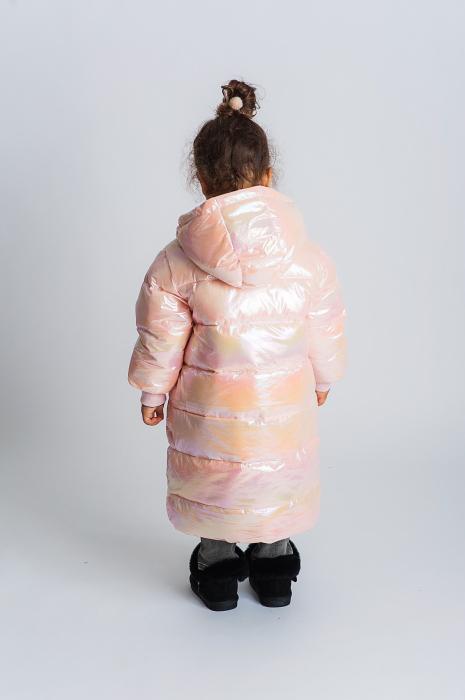 Jachetă Lungă cu Puf 3