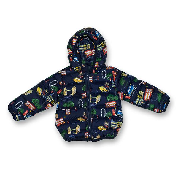 Jachetă Matlasată Groasă 3