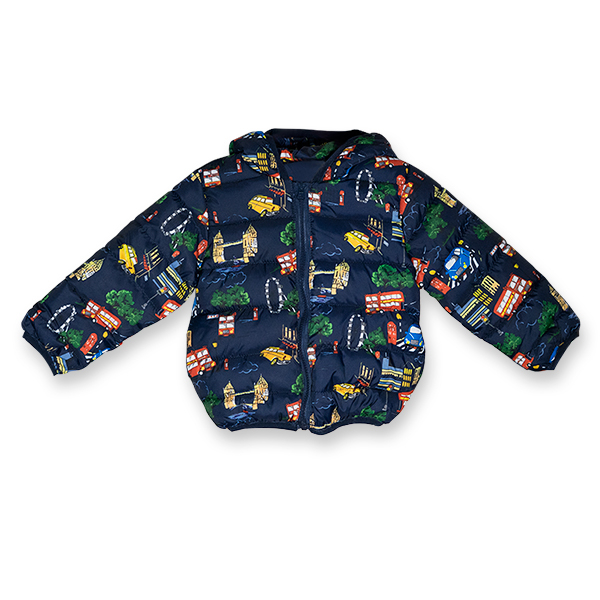 Jachetă Matlasată Groasă 4