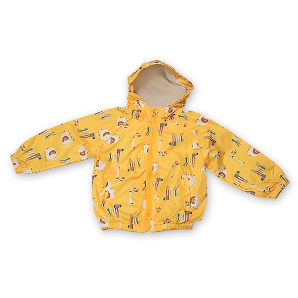 Jachetă subtire cu gluga 4