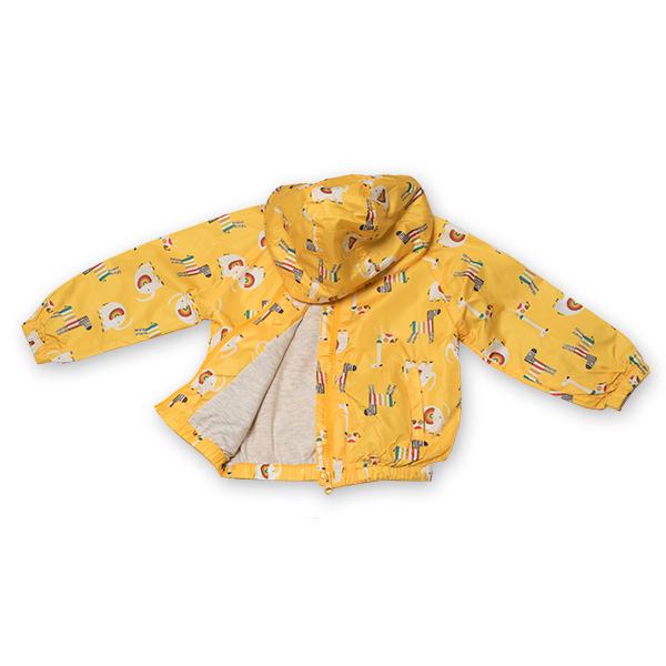 Jachetă subtire cu gluga 5