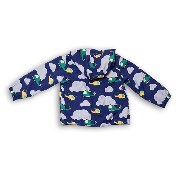 Jachetă subtire cu gluga 7