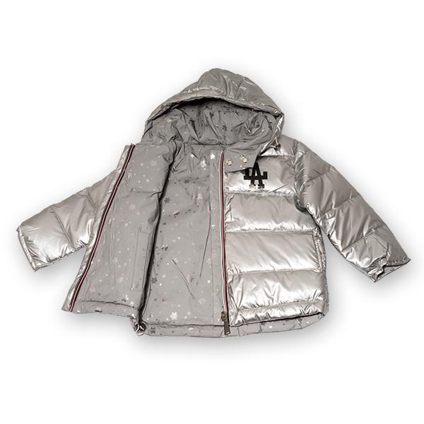 Jachetă Cu Puf  Reversibilă Cu Glugă 1