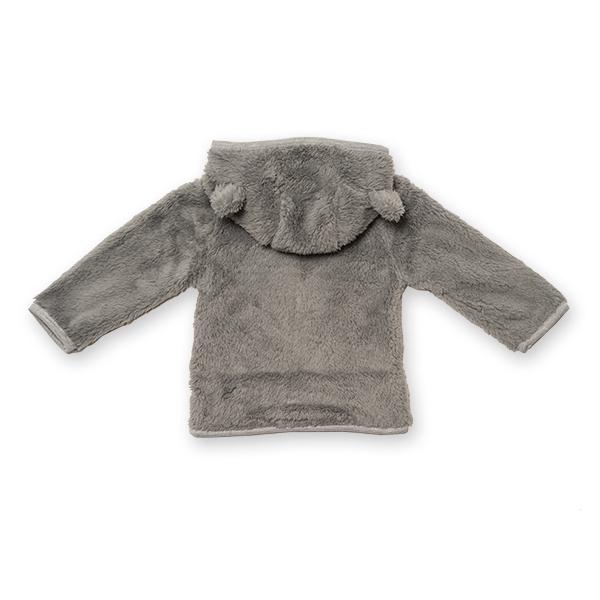 Jachetă fleece cu gluga [1]