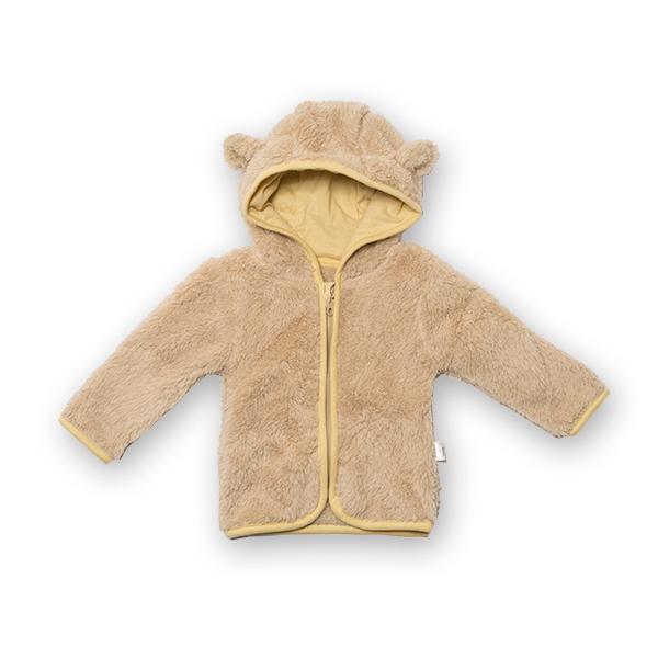 Jachetă fleece cu gluga 4