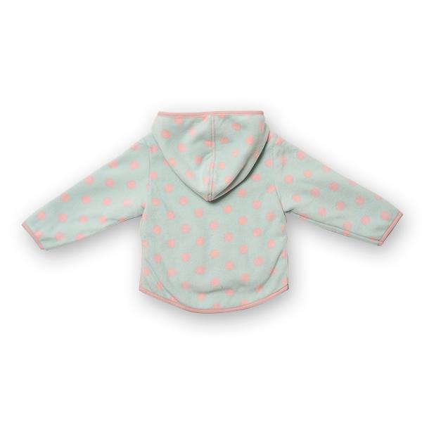 Jachetă groasa fleece cu gluga 1