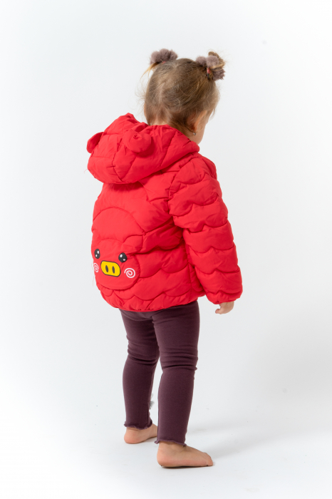 Jachetă Matlasată Cu Glugă [3]