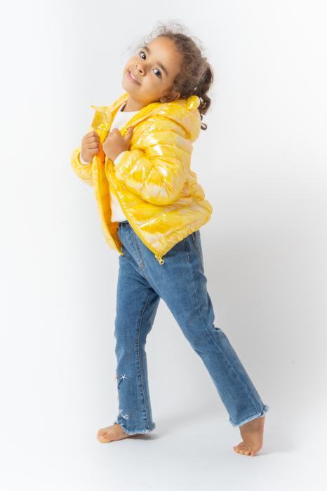 Jachetă Matlasată Cu Glugă 0