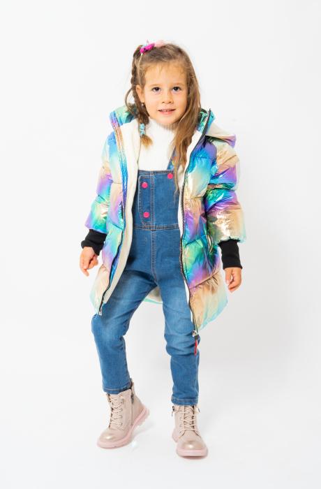 Jachetă Matlasată Cu Glugă 2