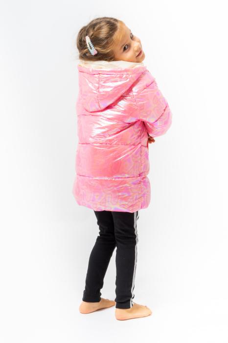 Jachetă Matlasată Cu Glugă 6