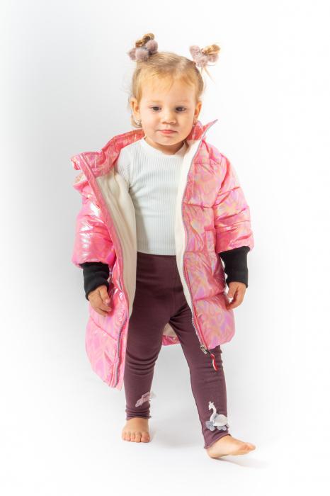 Jachetă Matlasată Cu Glugă 3