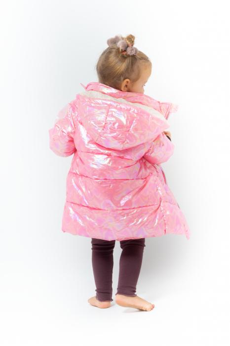 Jachetă Matlasată Cu Glugă 5