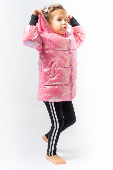 Jachetă Matlasată Cu Glugă 4