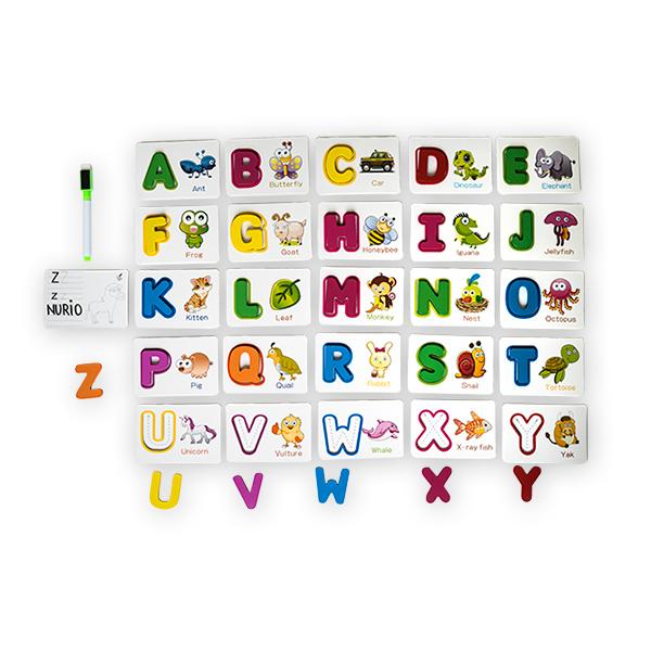 Joc din lemn cu carduri si litere in engleza 0