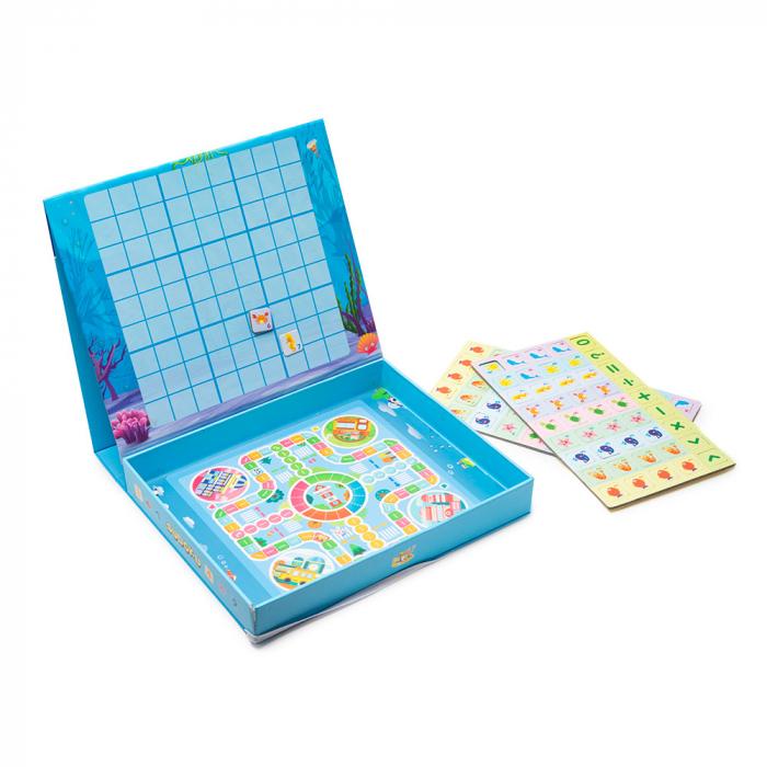 Joc multifunctional 2 in 1 din lemn - sudoku [2]