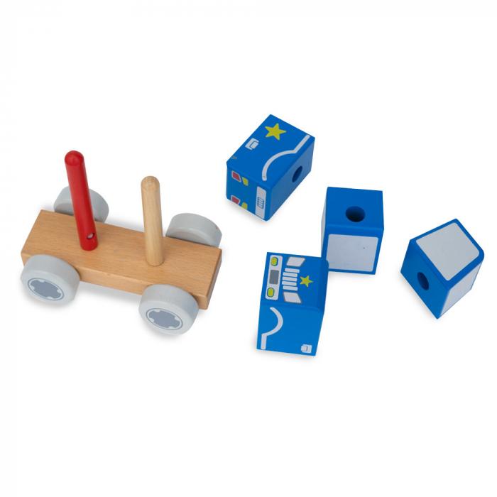 Blocuri de constructie din lemn tip masina 1
