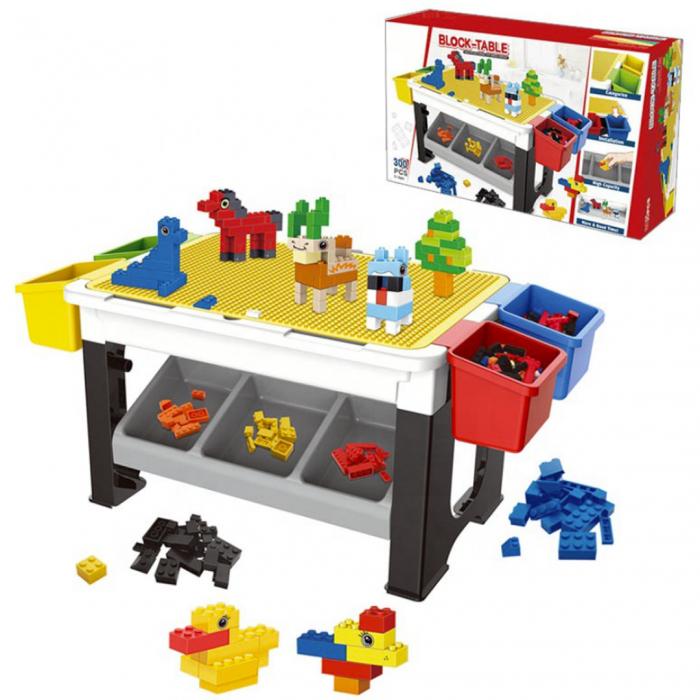 Masa multifunctionala - lego și birou pentru copii 0