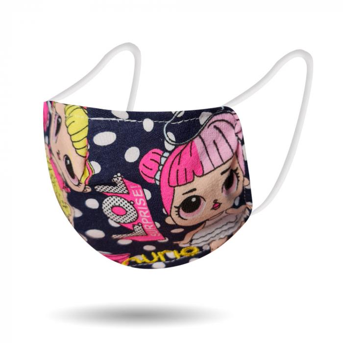 Masca protectie reutilizabila din bumbac pentru copii 0