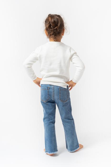 Pantalon din Denim [7]