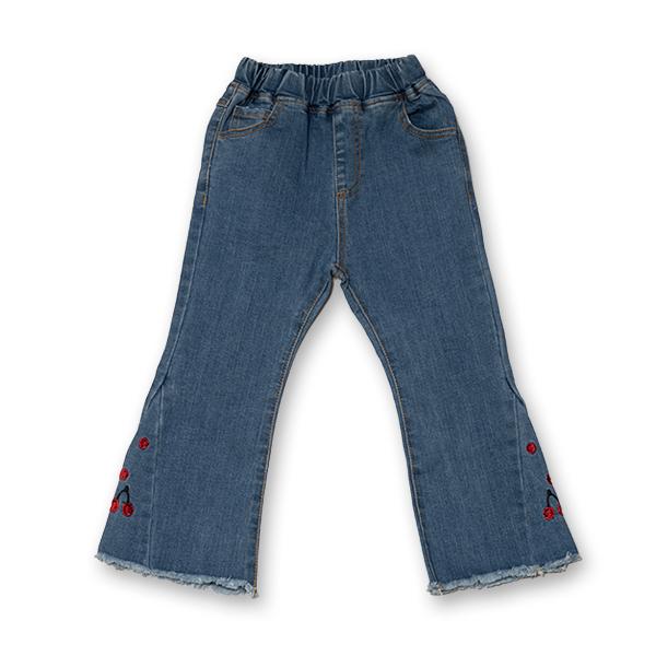 Pantalon din Denim 0