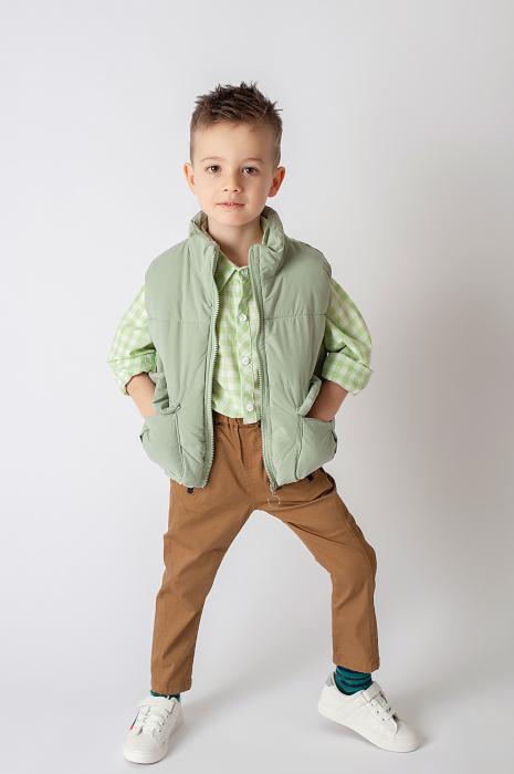 Pantalon cu bretele 8