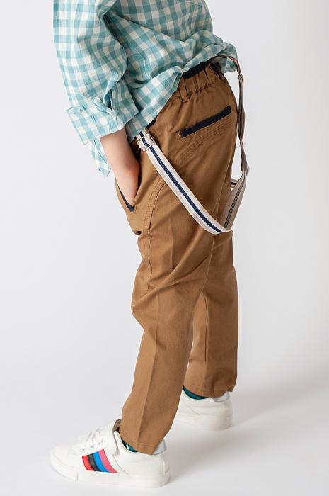 Pantalon cu bretele 1