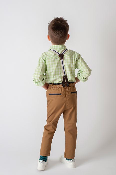Pantalon cu bretele 3