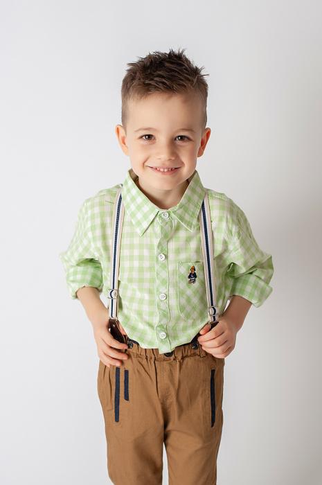 Pantalon cu bretele 2