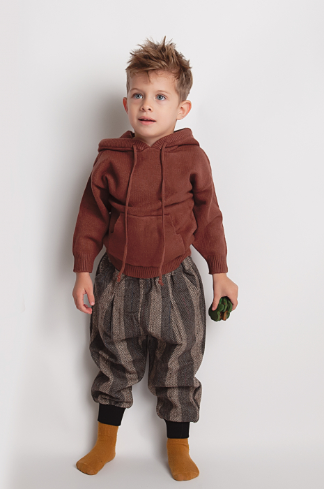 Pantalon in Carouri 0