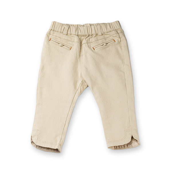 Pantaloni bej fete 0